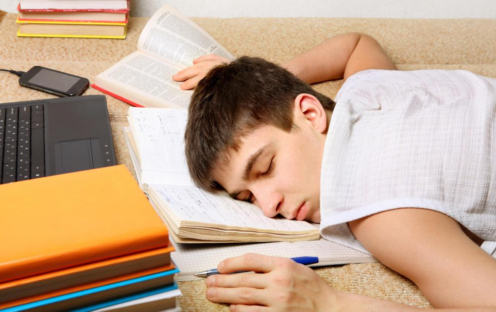 Good study skills can help students from becoming exhausted.