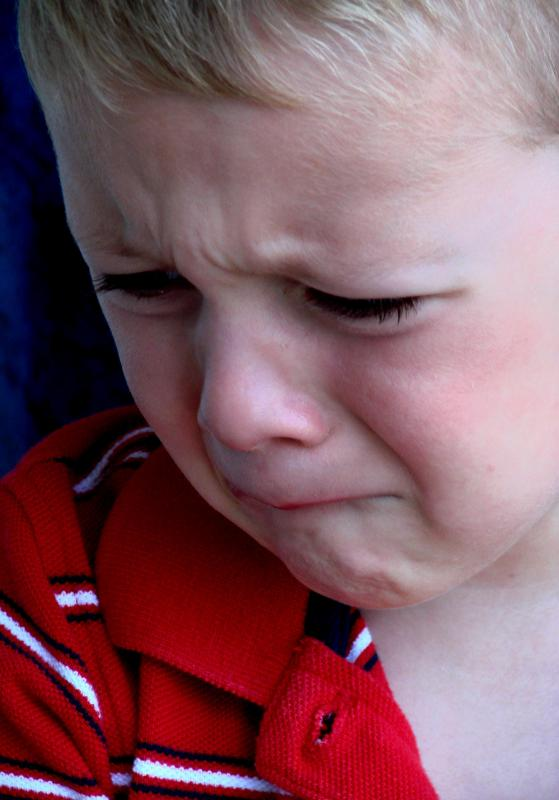 Temper tantrums are common in toddlers and not necessarily reason for concern.