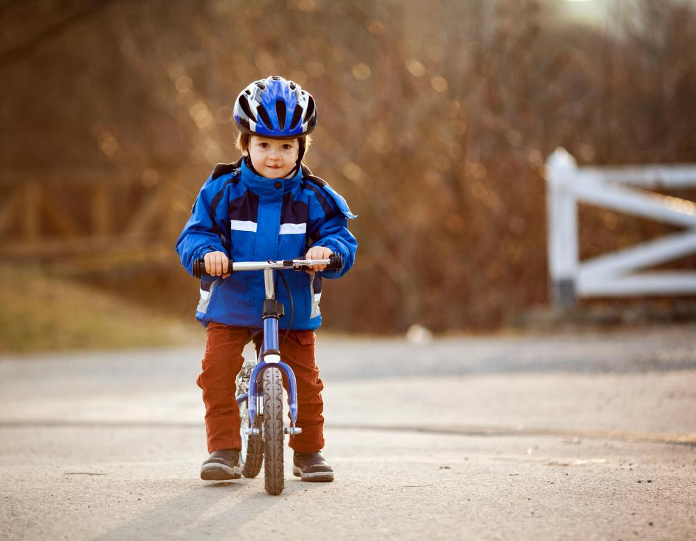 A tricycle can help prepare a child to learn to ride a bicycle.