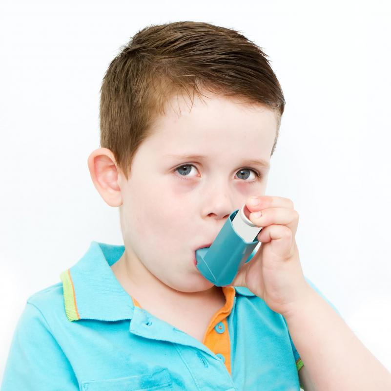 School age children can often be taught to use an inhaler for asthma treatments instead of the more complicated nebulizer.