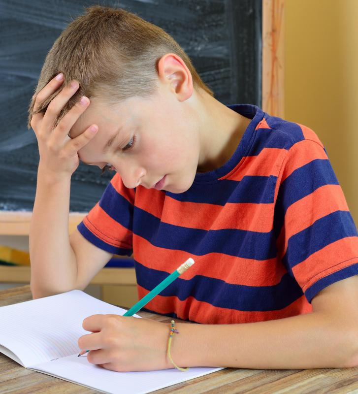 Modifying a student's workload in school may help them cope more easily with dyslexia.