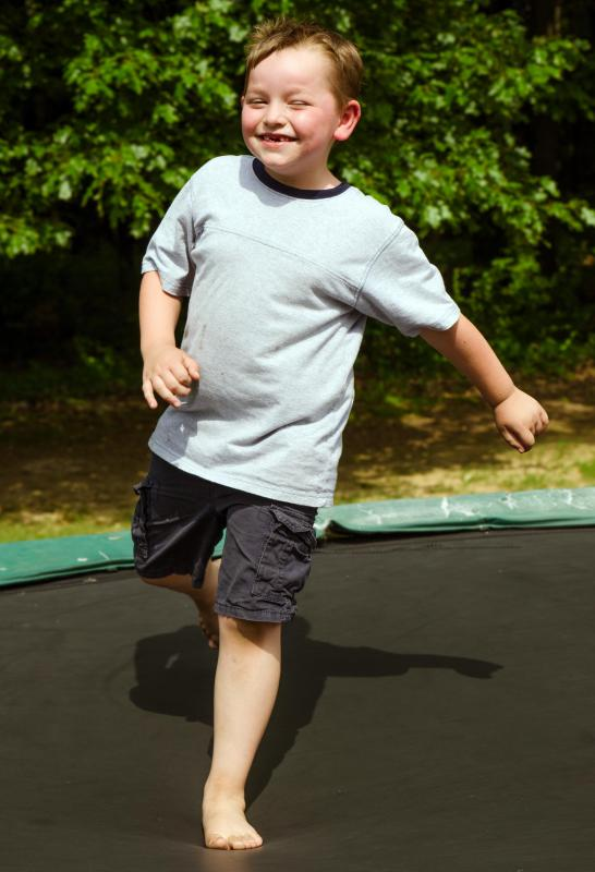 Jogging trampolines can be used to improve cardiovascular health.