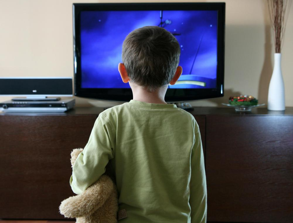 Concerns have been raised that reality TV shows can distort a child's perception of society.