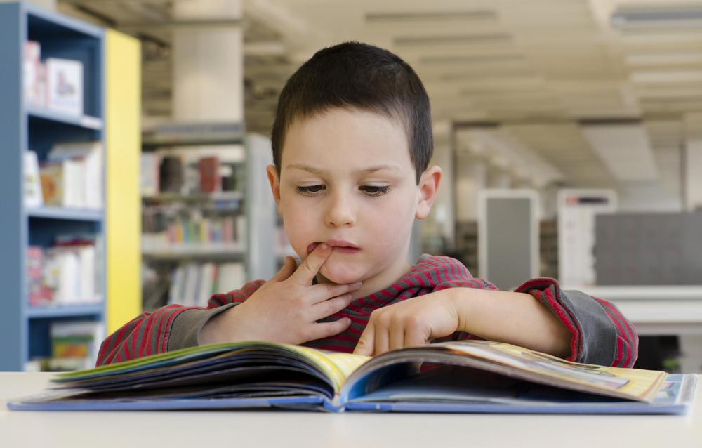 Students with dyslexia may need more reading practice.