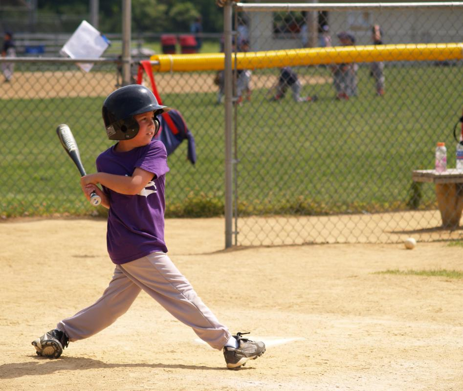 Personal development in childhood may take the form of participation in athletic activities.