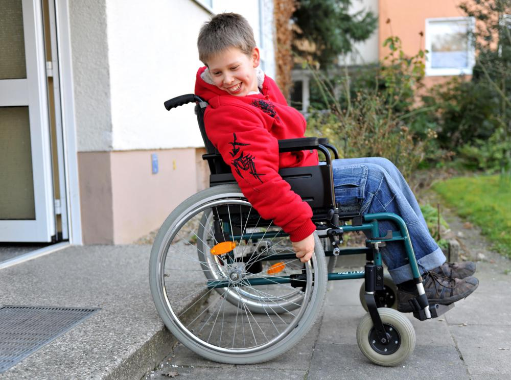 US schools must be made wheelchair accessible.