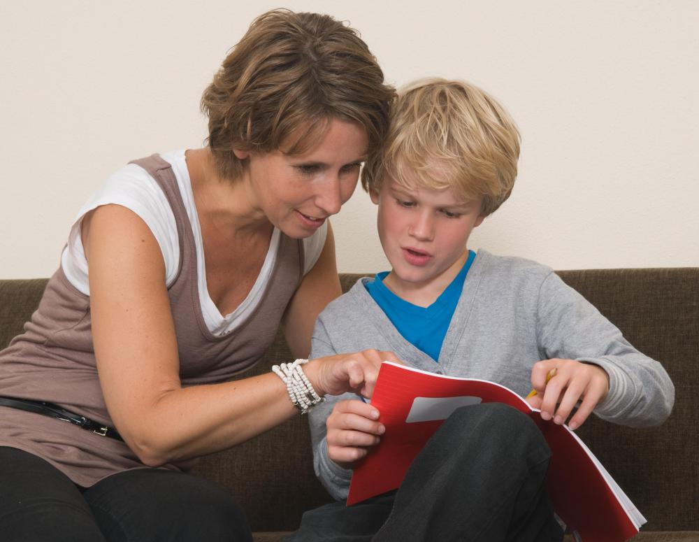 Foster parents often have a role in a child's education.