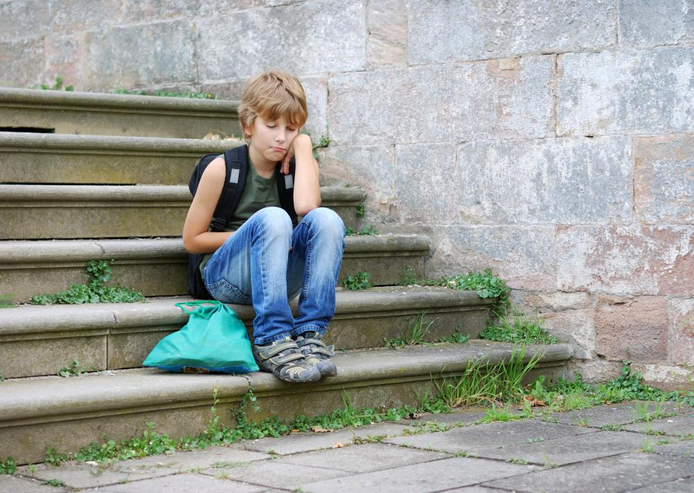A child with ADHD might feel isolated or unpopular.
