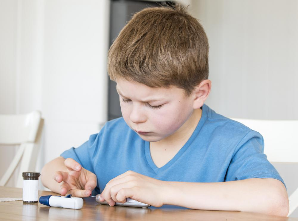 Some children have memory loss in conjunction with diabetes.