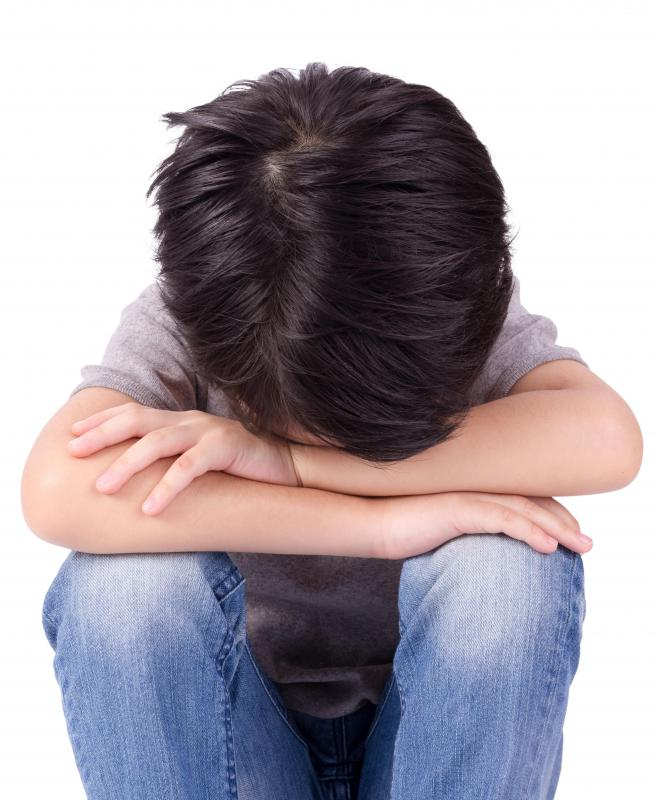 Unusual emotional patterns in children might be a sign of bullying.