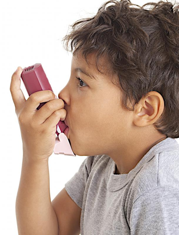 Asthma is a type of breathing disorder.