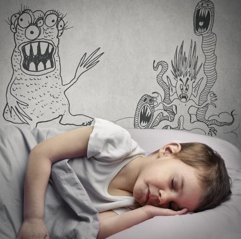 Up to about 50% of children can suffer from nightmare disorders.