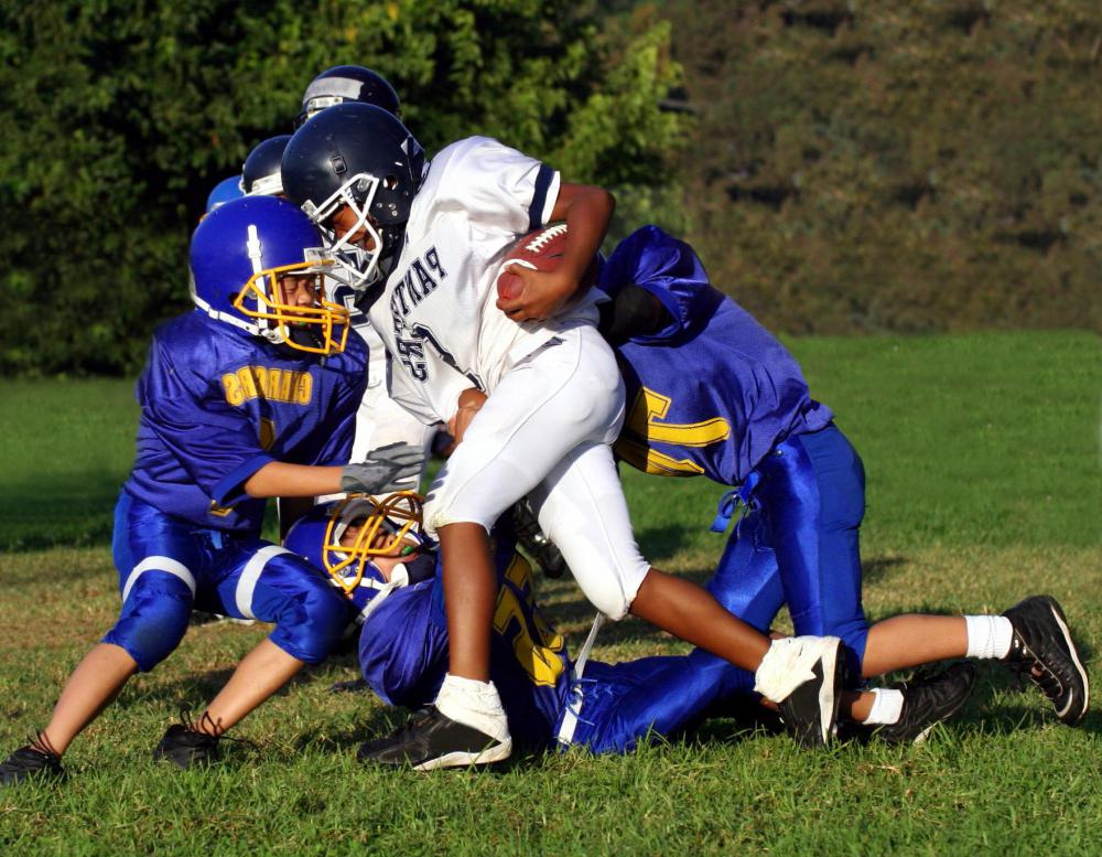 A school counselor may help students get involved in sports or other extracurricular activities.