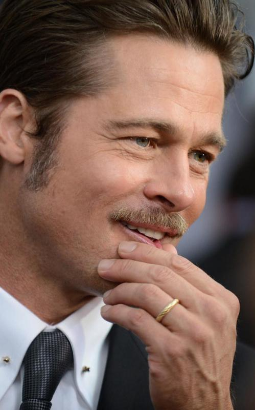 Brad Pitt has been labeled as being metrosexual.