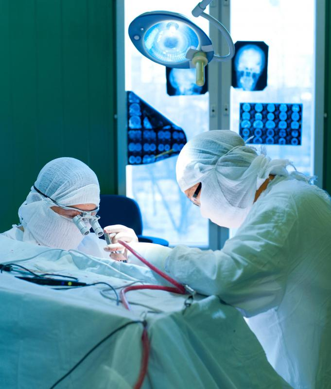 Some facilities specialize in neurosurgery.