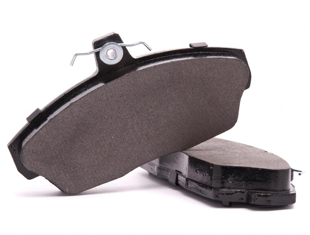 Replacing brake pads is a common auto maintenance procedure.