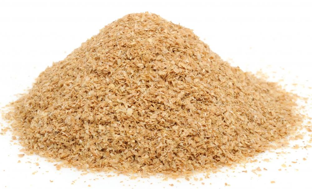 Wheat bran, which is high in fiber.
