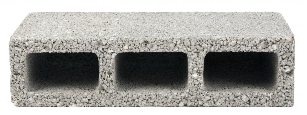 A cement block is also known as a breeze block.