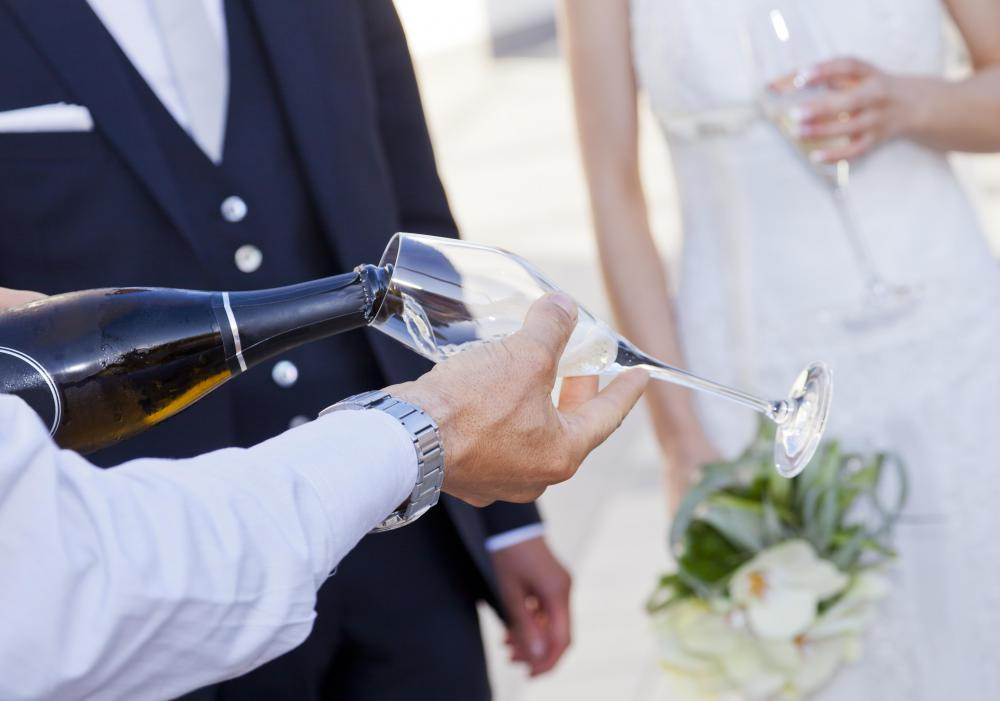 Prosecco is less expensive than champagne, which makes it ideal for large gatherings, such as weddings.