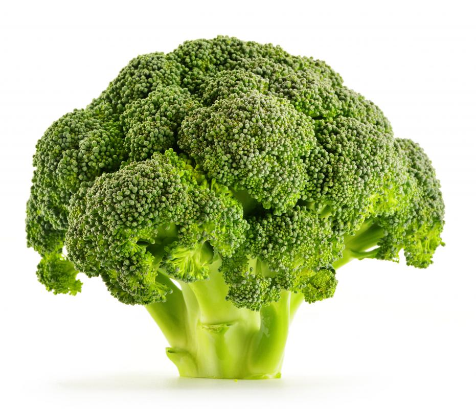 Broccoli is a natural source of chromium.