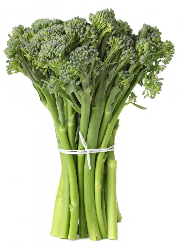 Rapini has a slightly bitter taste and is featured in Italian and Chinese cuisines.