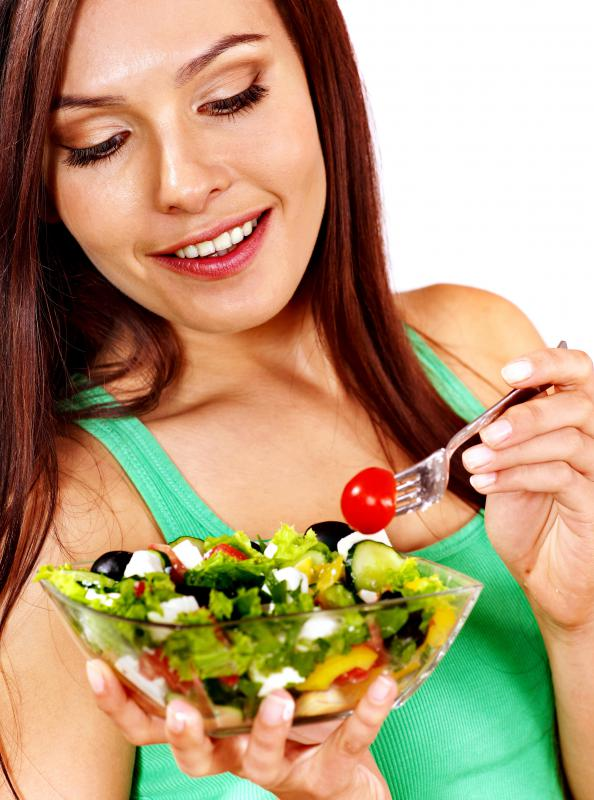 A salad may be eaten as a merienda.