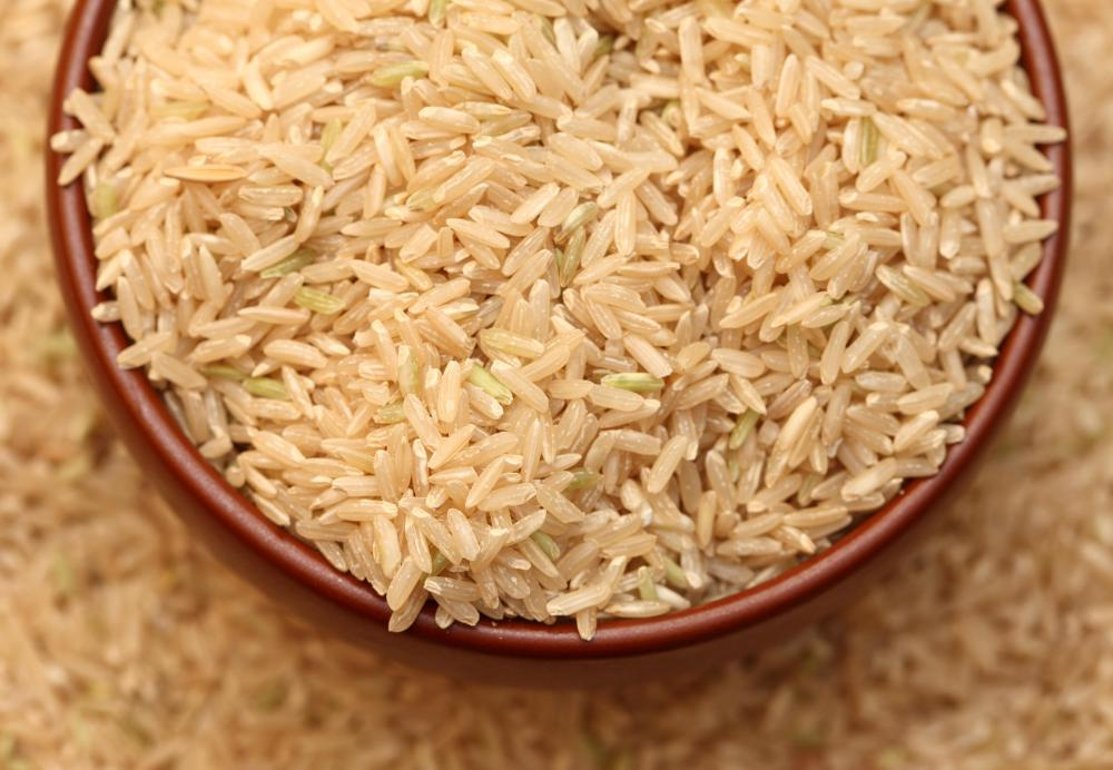 Brown rice is a healthier alternative to parboiled white rice.