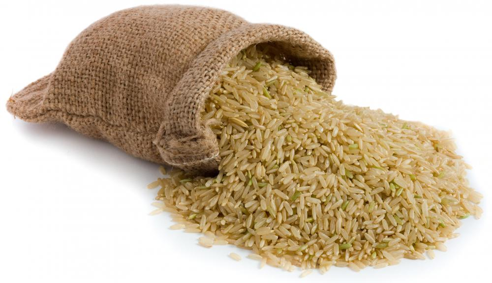 Measuring rice is usua...