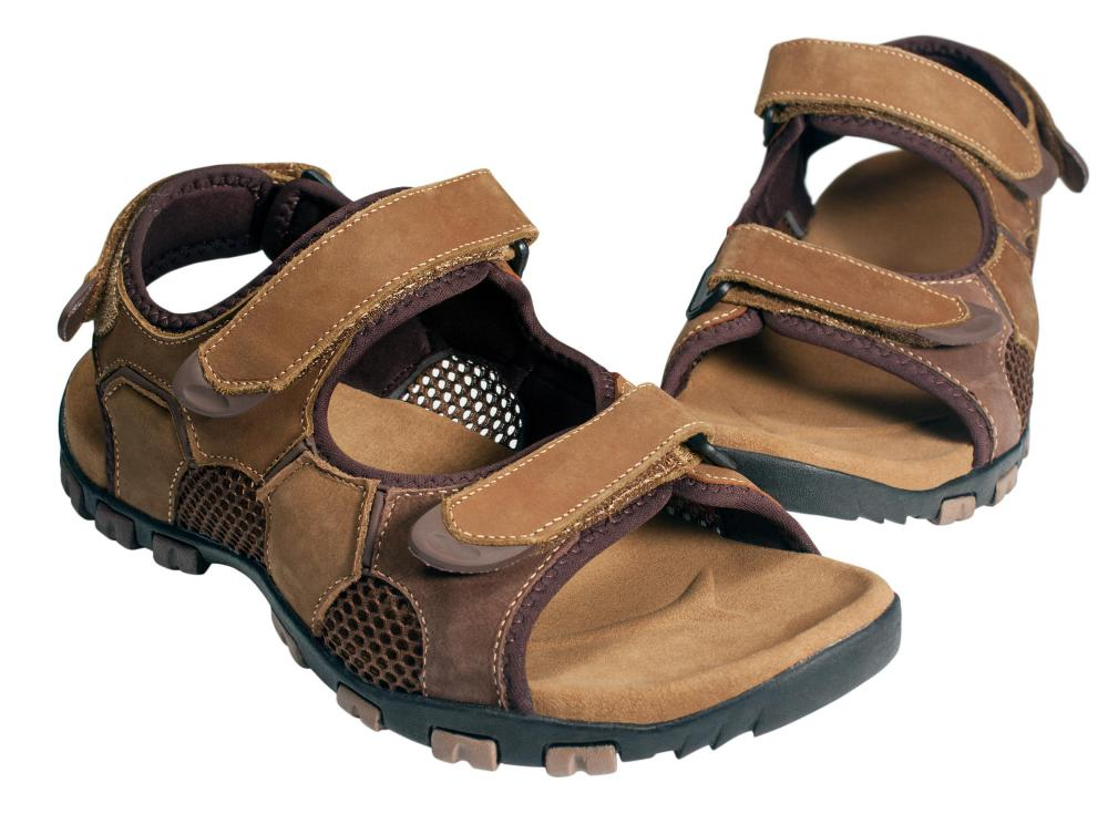 Sandals with a back strap may be fine for shorter hikes.