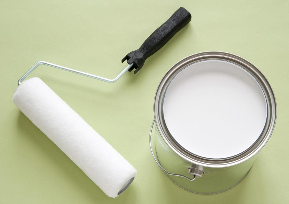 Paint supplies may be purchased with a rehab loan.
