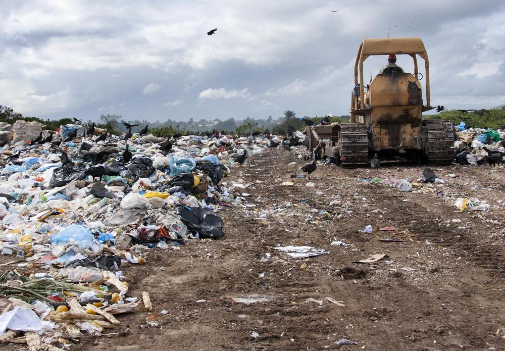 Within North America, a hazardous waste landfill must meet strict governmental guidelines.