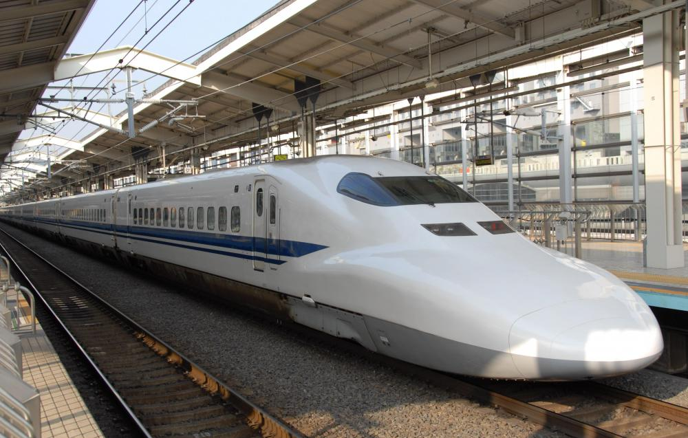 Japan's bullet trains -- called Shinkansen -- travel up and down much of the archipelago.