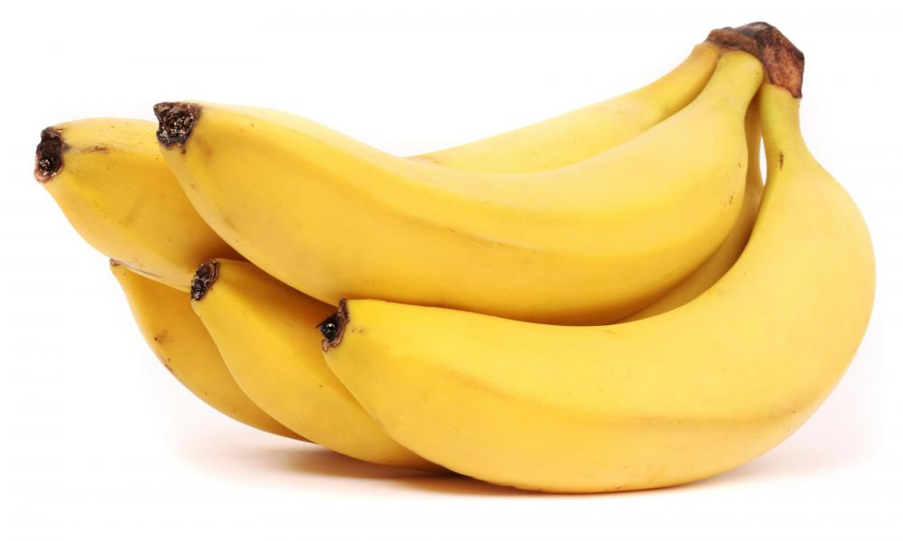 Bananas can be used to make quick bread.