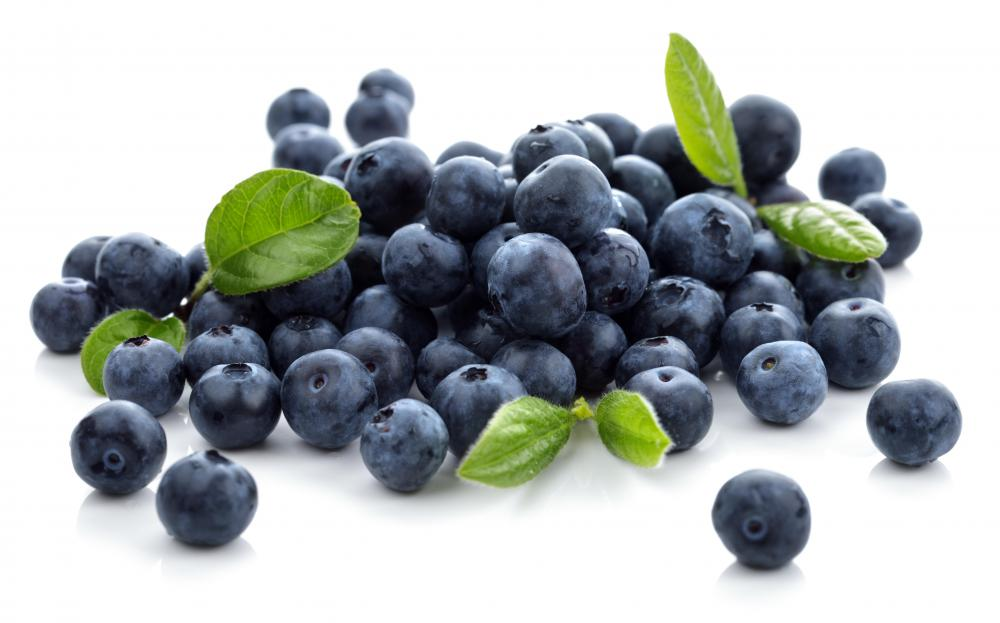 Blueberries are a popular choice for edible landscaping.