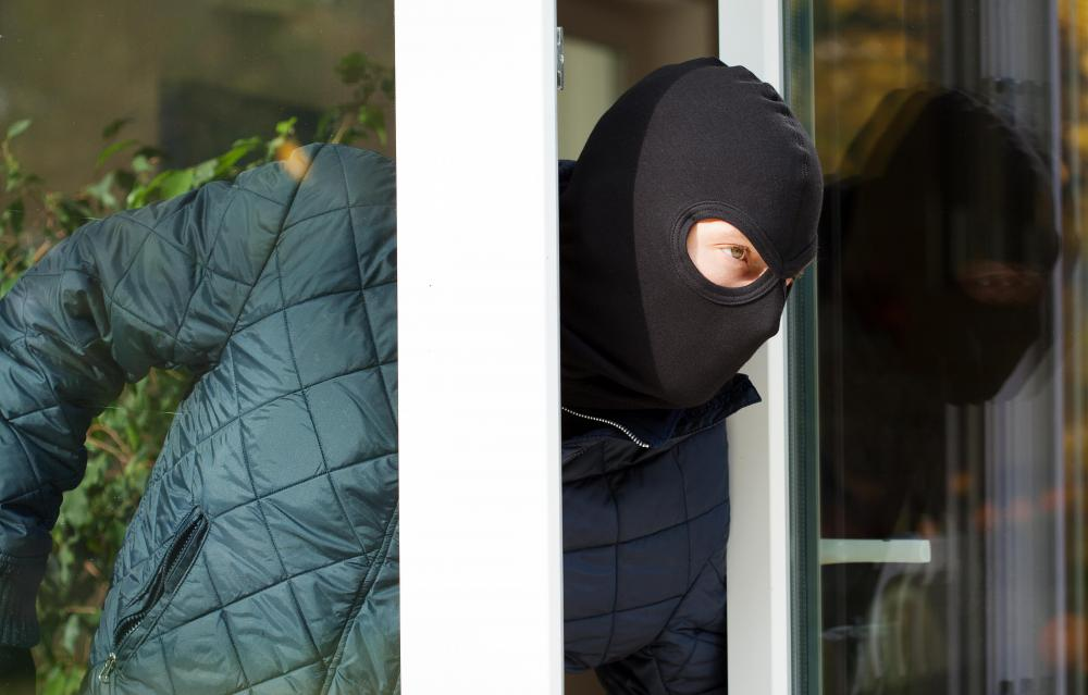 The presence of a property caretaker may help to deter burglars.