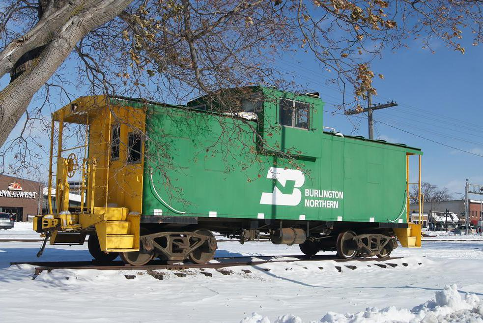 The caboose was once a common part of freight trains.