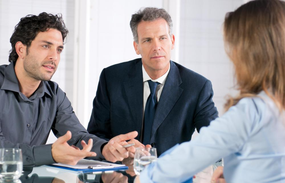 Formal interviews are probably the most common types of interview.