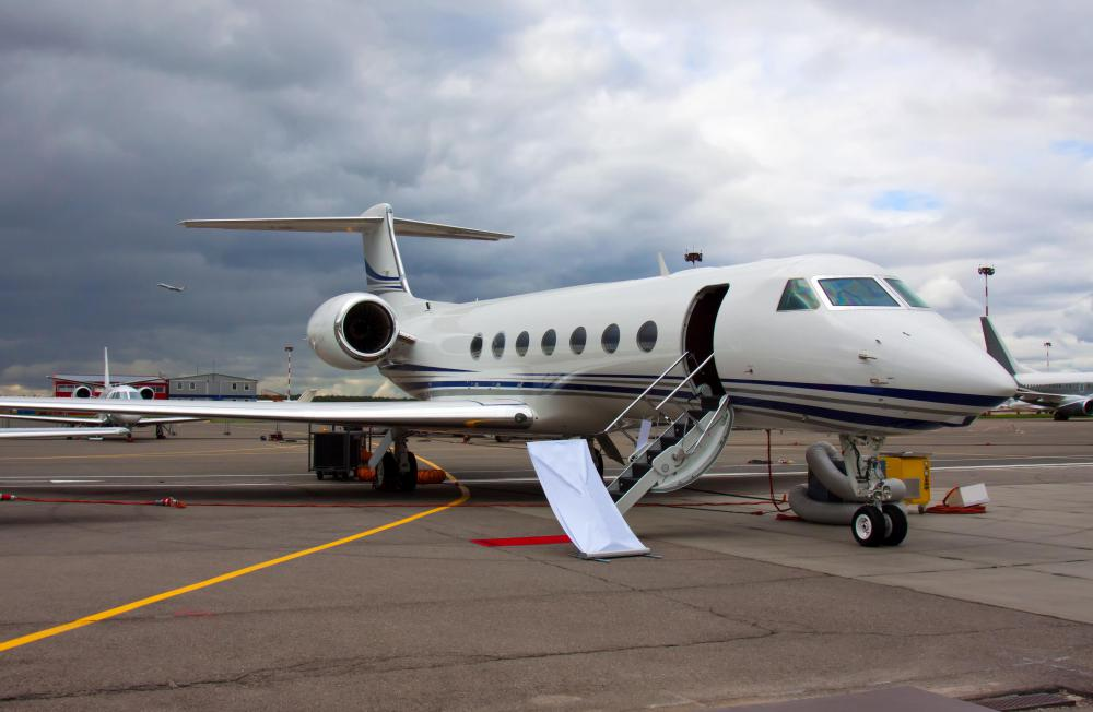 A corporate concierge may charter jets.