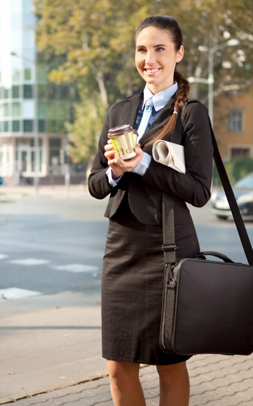Personal assistants often run errands for their employers.