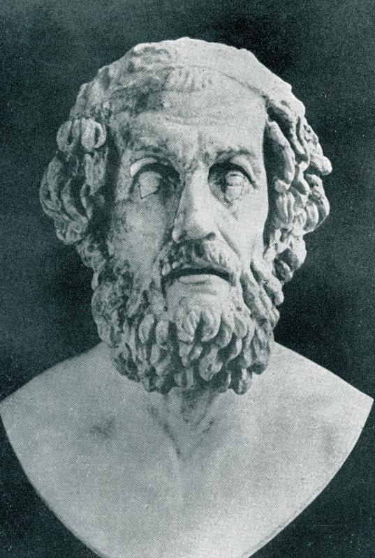 "Homer's ""Odyssey"" include a story with Poseidon."