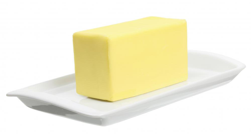 Butyric acid, often butyrate, enables the scent of sour butter to be detected by the nose.