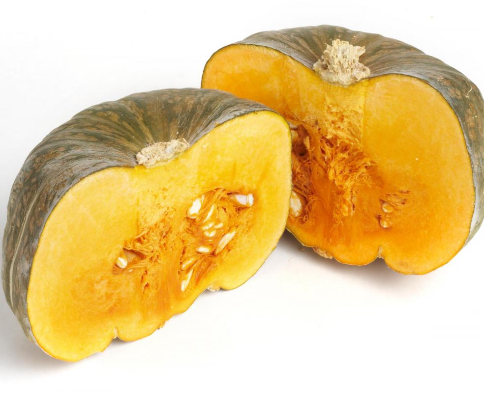 Winter squash is often added to Crock-Pot® chicken stew.