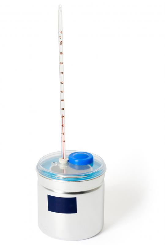 A caloriemeter can be used to determine a substance's kilocalories.