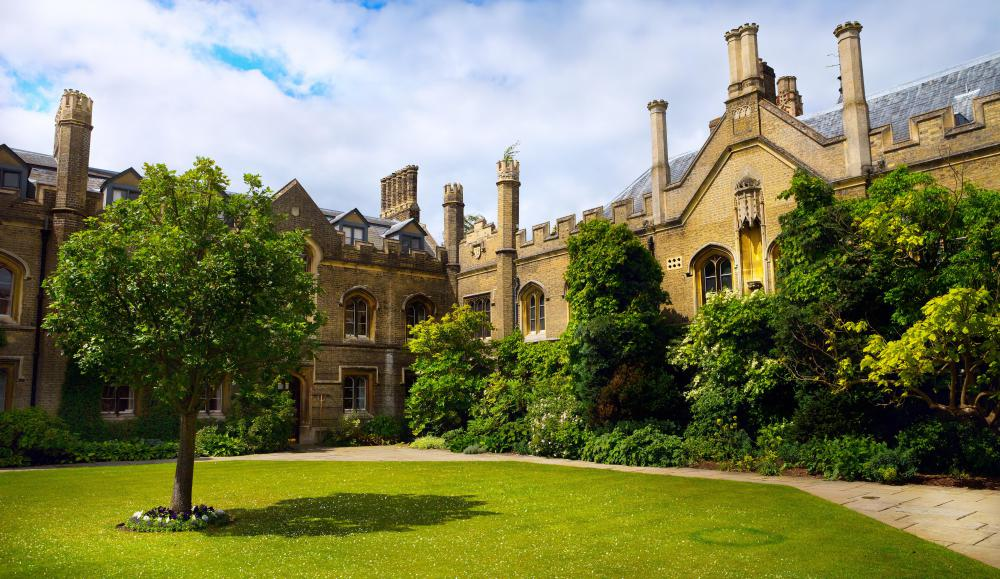 Sir Isaac Newton studied at Trinity College at Cambridge University.