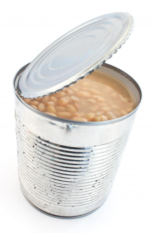 Cans of pinto beans can be purchased at supermarkets.