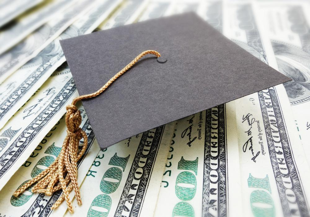 With an unsubsidized student loan, interest begins to accrue when the money is disbursed.