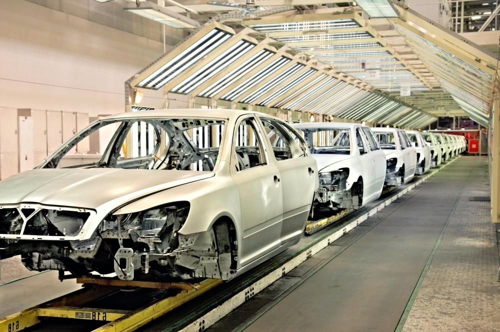 Many automotive jobs are related to assembly line production.