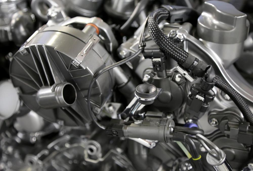 One department of a car manufacturing facility might solely be dedicated to the engine.
