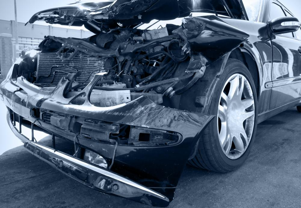 Damage to a vehicle caused by striking another automobile or object is covered by a collision policy.