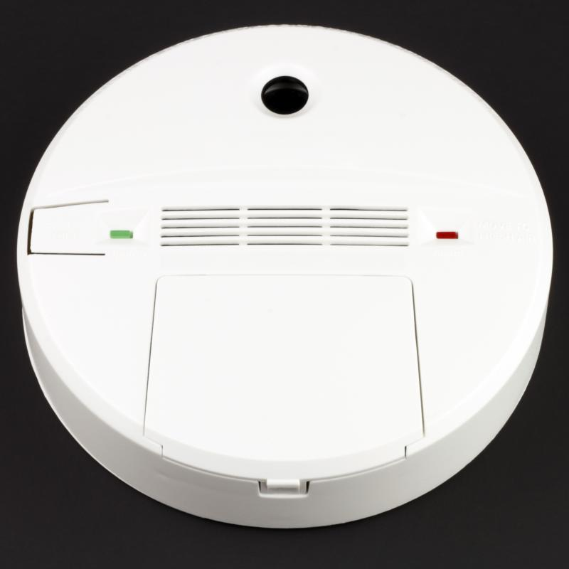 Battery operated carbon monoxide detectors can be placed almost anywhere.